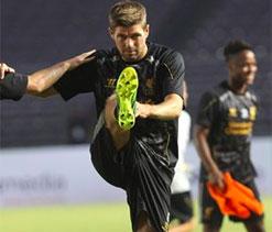 Liverpool skipper Gerrard pleased with return from injury