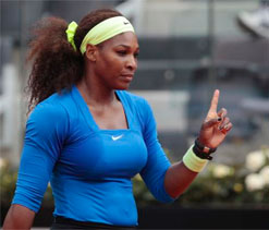 Serena will bounce back, says Coach