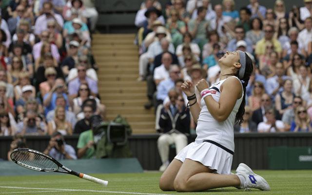 Marion Bartoli storms into second Wimbledon final