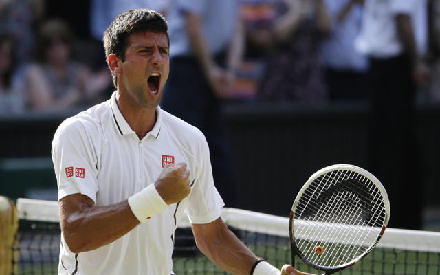 Djokovic into Wimbledon final after record Del Potro win