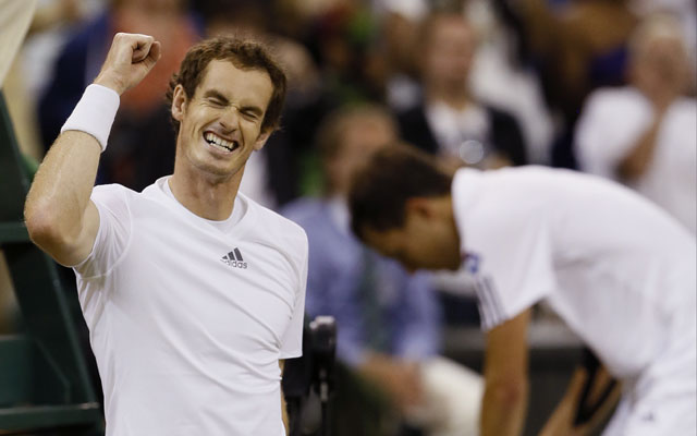 2013 Wimbledon: Andy Murray survives roof rage to set up Novak Djokovic clash