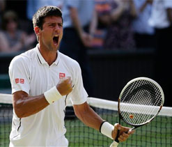 Novak Djokovic triumphs in longest ever Wimbledon semi-final