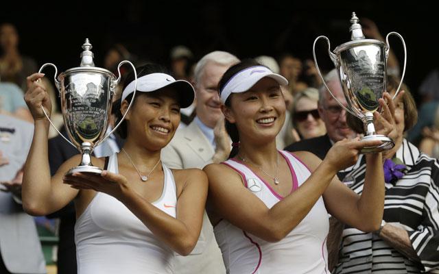 Su-Wei Hsieh, Peng Shuai win Wimbledon women's doubles title