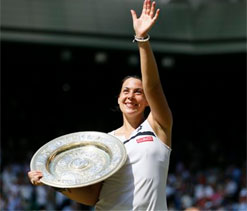 Marion Bartoli`s perfect day could spark more glory