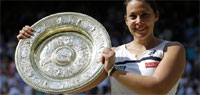 Marion Bartoli routs Sabine Lisicki to win first Wimbledon title