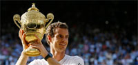 Andy Murray ends Britain`s 77-year wait with Wimbledon triumph