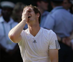Can't believe what's just happened: Andy Murray
