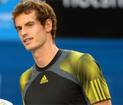 Murray not sure if deserving of `Sir Andy` title