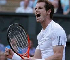 Murray still looking `energized, eager` despite grueling 24-hr period after Wimbledon final
