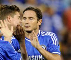 Lovely buzz at Chelsea these days, says Lampard