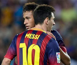 Barca`s Messi and Neymar hold no fears for Valencia