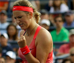 Azarenka`s love affair with New York continues