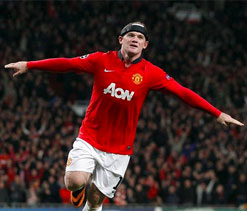 Alex Ferguson delighted to see Wayne Rooney back in form