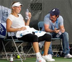 Golf meets tennis: Rory McIlroy and Caroline Wozniacki engaged