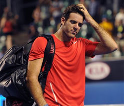 Del Potro crashes out in second round of Australian Open