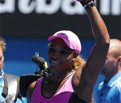 In-form Serena Williams breaks Australian Open wins record in Melbourne