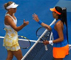 Australian Open: Caroline Wozniacki`s Grand Slam dream ends