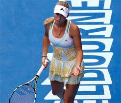 Wozniacki crashes out in Melbourne