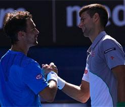 Imperious Novak Djokovic canters into quarter-finals