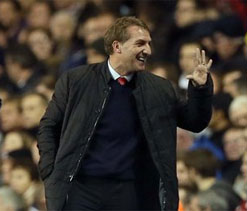 Brendan Rodgers happy to see Liverpool win ugly