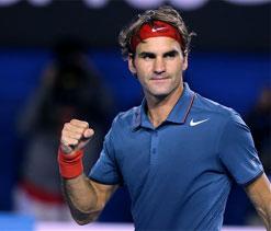 Australian Open: Spotless Federer thrashes Tsonga, plays Murray in quarters