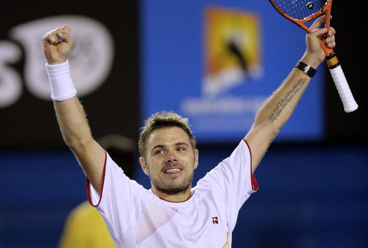 Australian Open 2014: Wawrinka edges past Djokovic in epic five-setter