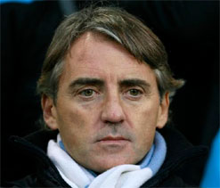 Man City building on my foundations, says ex-boss Roberto Mancini