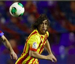 Puyol uncertain for Malaga match