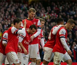 Germany`s Puma ousts Nike as Arsenal kit supplier