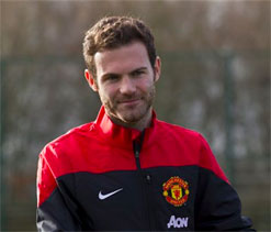 Mata could make United debut against Cardiff