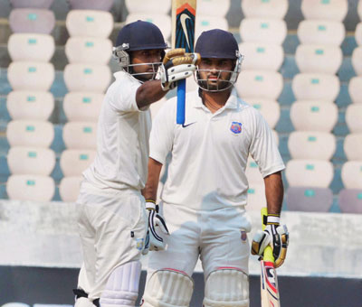 Ranji Trophy final: Ankit Bawne takes Maharashtra to 272 for five vs Karnataka
