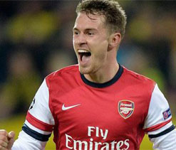 Arsenal midfielder Ramsey suffers injury setback