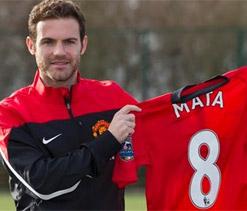 Mata starts for Man United, strike duo return