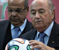 Brazil`s World Cup work has begun too late, says Blatter