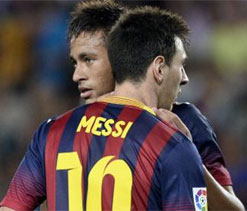 Barca`s in-form strikers battle for cup places