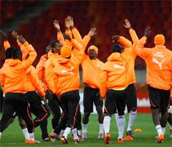 Ivory Coast name World Cup base
