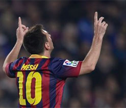 Messi scores twice in long-awaited return