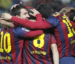 Barca, Real on the brink of Cup final showdown