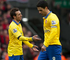 I`ve never seen Wenger so angry, says Arteta