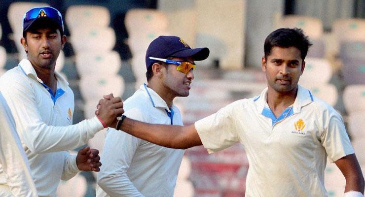 Shreyas Gopal`s maiden hat-trick guides Karnataka to Irani title