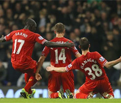 After 23 years, Liverpool lead Manchester United in February