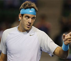 Unhappy Del Potro says won`t play Davis Cup this year