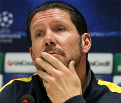 Atletico coach Simeone relishing San Siro return