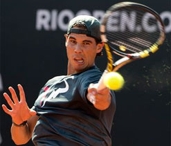 Top-ranked Nadal makes triumphant Rio return