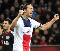 Ibrahimovic double puts PSG on verge of quarters