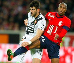 Nice defeat leaves Lille hanging on to Champions spot
