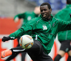Senegal`s Diouf eager to extend Hanover stay