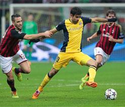 Costa late show gives Atletico precious Milan win