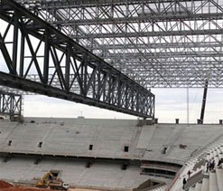 Curitiba stadium to stage World Cup test event