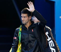 Novak Djokovic begins his quest for titles again